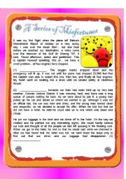 English Worksheets: RC : A Series of Misfortunes