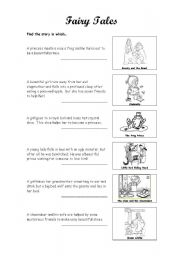 fairy tales activity and worksheet esl worksheet by art1106. Black Bedroom Furniture Sets. Home Design Ideas