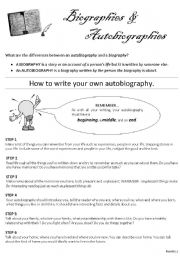 biography essay example