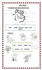 English Worksheets: Funny revision