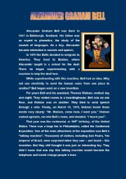 Alexander Graham Bell ( 3 pages )