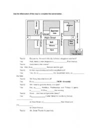 english teaching worksheets asking for giving directions. Black Bedroom Furniture Sets. Home Design Ideas