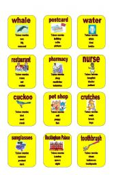 English Worksheets: Taboo - set 3