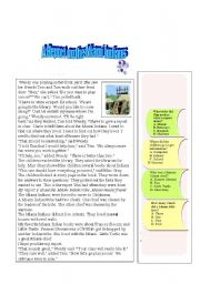 English Worksheets: report is about the Miami Indian