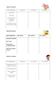 English worksheet: Modals - Have To, Don´t Have To, Can, Can´t