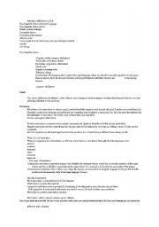 English Worksheets: individual diferences