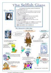 English Worksheets: The Selfish Giant