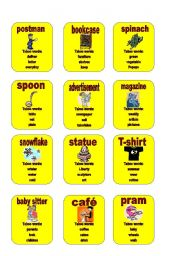 English Worksheets: Taboo - set 4