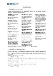 English Worksheets: teacher guide