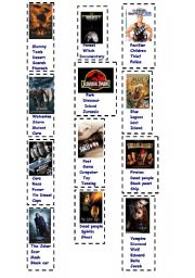 English Worksheets: Guess the movie - Part I