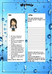 English Worksheets: ACTIVITY FOR THE FIRST DAY
