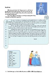 English Worksheet: Cinderella