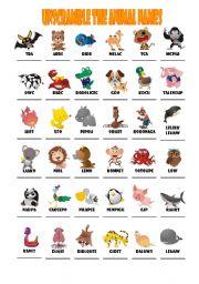 cute animals names