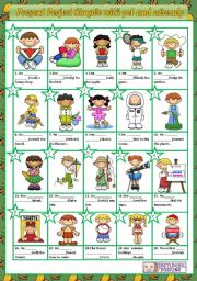 English Worksheet: PRESENT PERFECT SIMPLE WITH ALREADY AND YET