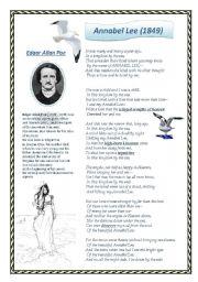 A poem of Edgar Allan Poe