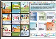 English Worksheets: MY FAMILY STORY PART 1/3  TWO ACTIVITIES WITH KEY LEARN AND PLAY