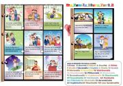 English Worksheets: MY FAMILY STORY PART 2/3 TWO ACTIVITIES LEARN AND PLAY