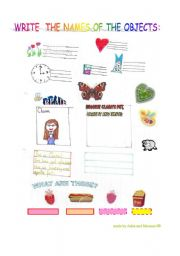 English Worksheets: My little pupil�s worksheet made especially for eslprintables!!!