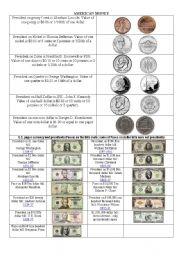 worksheet: American money