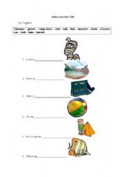 English Worksheets: Kids