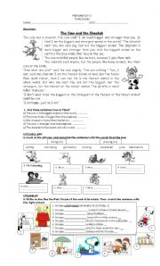 English Worksheet: Happy Earth 1