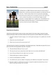 English Worksheet: The Blind Side- Comprehension and Discussion Questions