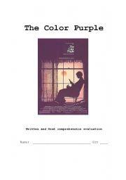 Color purple movie lesson plans