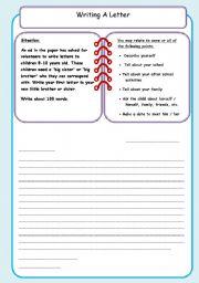 Writing An Informal Letter 6 Esl Worksheet By Debbiem
