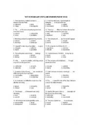 English teaching worksheets: TOEIC