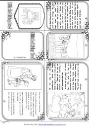 ESL worksheets for beginners Little Red Riding Hood Mini Book