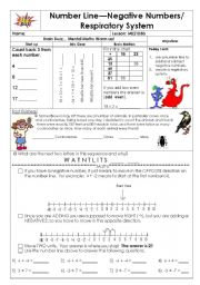English Worksheets: Respiratory system