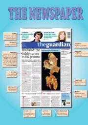 English Worksheet: The Newspaper - Part 1