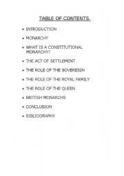 English Worksheets: british