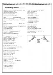English Worksheets: ACCIDENTALLY IN LOVE - SMASH MOUTH
