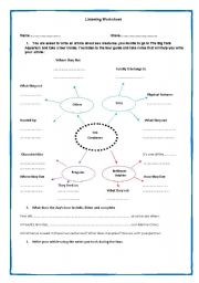 English teaching worksheets: Other listening worksheets