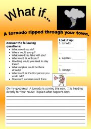 What if Series 2: What if… A tornado ripped through your town!