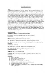 English Worksheets: THE ADVENTURES OF HUCLEBERRY FINN