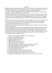English Worksheets: Blockhead