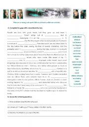 English worksheet: Crash - Film Worksheet