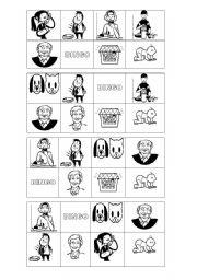 Bingo about Family