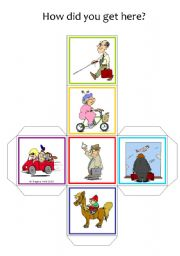 Travel / Commute - Dice / Cube