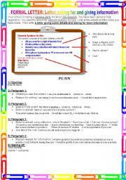 Formal letter asking for and giving information esl worksheet by english worksheet formal letter asking for and giving information spiritdancerdesigns Images