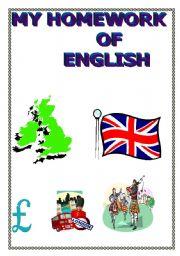 My homework of English