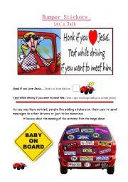 Let´s Talk - Bumper Stickers