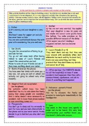 English Worksheets: Story building cards
