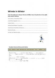 English Worksheets: Winnie order �n gasp