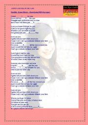English Worksheet: Satellite  (Lena Meyer --Eurovision 2010 Germany)
