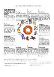 english teaching worksheets horoscope. Black Bedroom Furniture Sets. Home Design Ideas