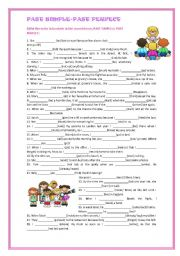 English Worksheet: Past simple-Past perfect