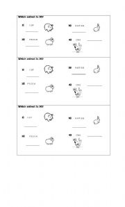 English Worksheets: Put the letters in the correct order.